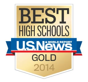 AHS Gold Medal U.S. News 2014