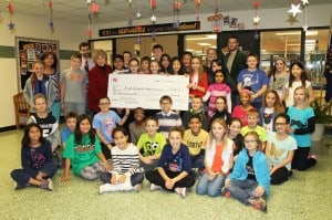 happy hollow student council donation